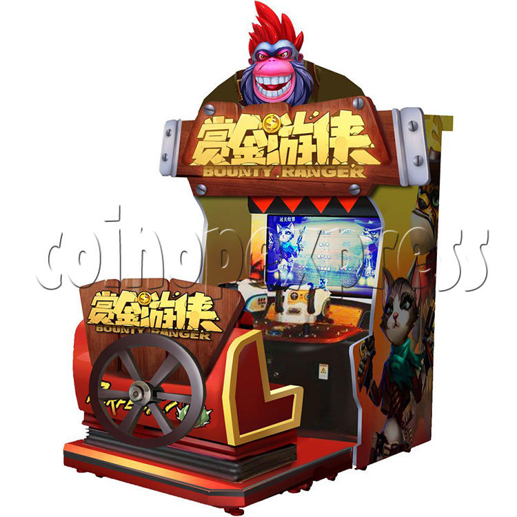 Bounty Ranger Arcade Machine Chinese Version