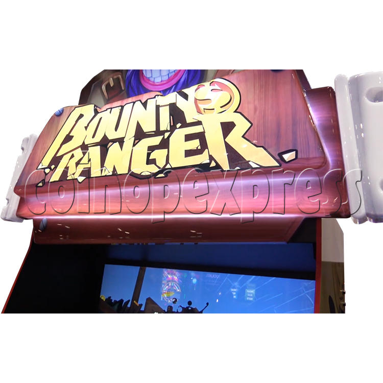 Bounty Ranger Arcade Machine Header