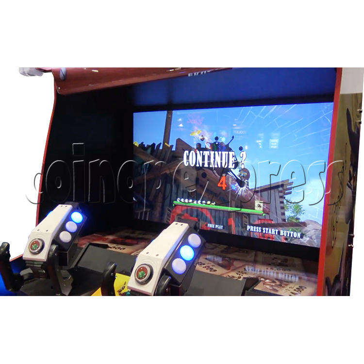 Bounty Ranger Arcade Machine Monitor