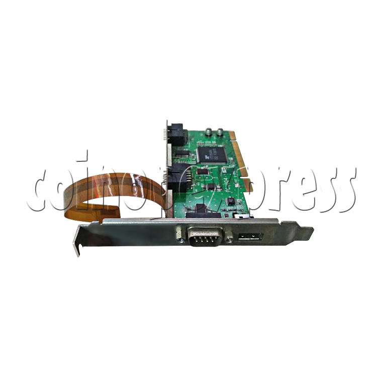 PCI JVS I/O Board for Wangan Midnight Maximum Tune 3 DX Plus Game Machine-angle view