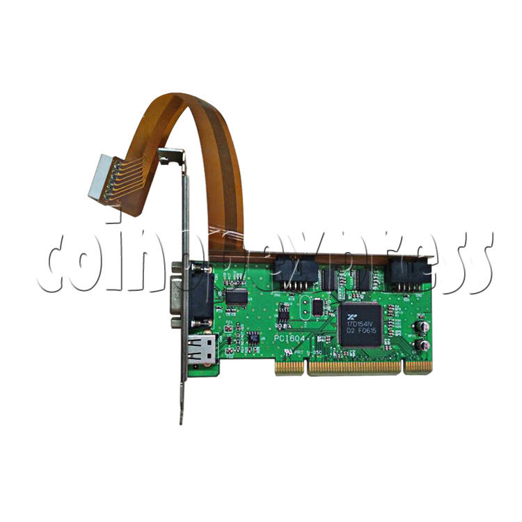 PCI JVS I/O Board for Wangan Midnight Maximum Tune 3 DX Plus Game Machine-front view
