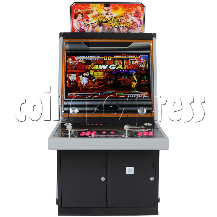 Street Hero 32 inch Arcade Cabinet - front view