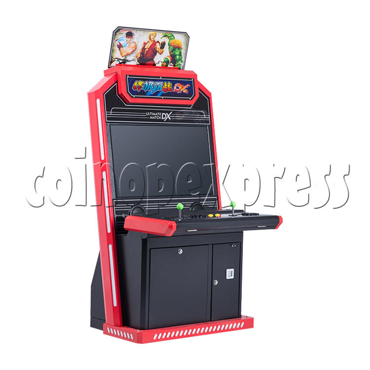 Ultimate Match DX 32 inch Arcade Cabinet - left view
