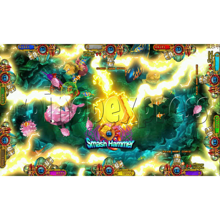 Ocean king 3 plus Fire Phoenix Fish Game Board Kit China Release Version - screen display 14