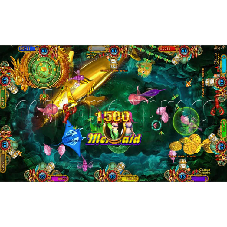 Ocean king 3 plus Fire Phoenix Fish Game Board Kit China Release Version - screen display 2