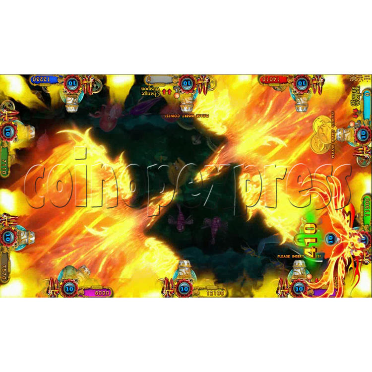 Ocean king 3 plus Fire Phoenix Fish Game Board Kit China Release Version - screen display 5