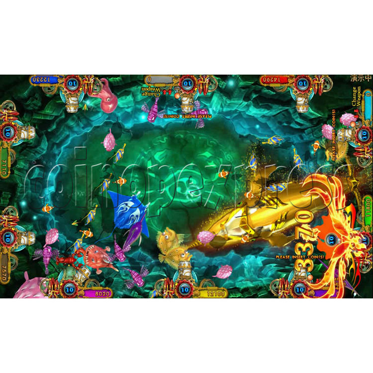 Ocean king 3 plus Fire Phoenix Fish Game Board Kit China Release Version - screen display 8