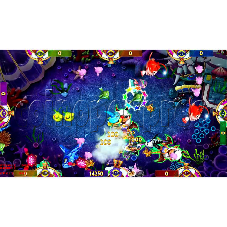 Fisherman Club Fish Game Board Kit China Release Version- screen display 3
