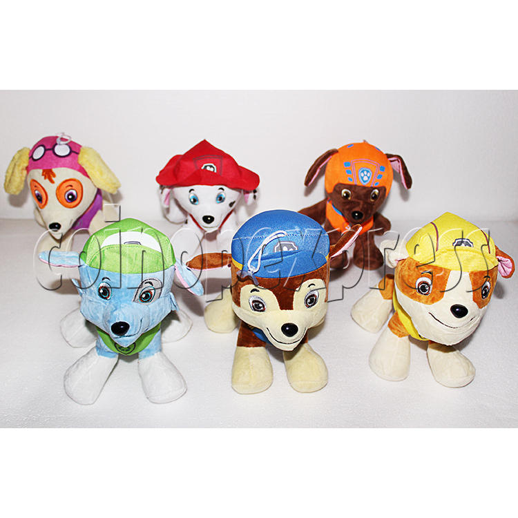 Dog Patrol Plush Toy 8 inch - front view