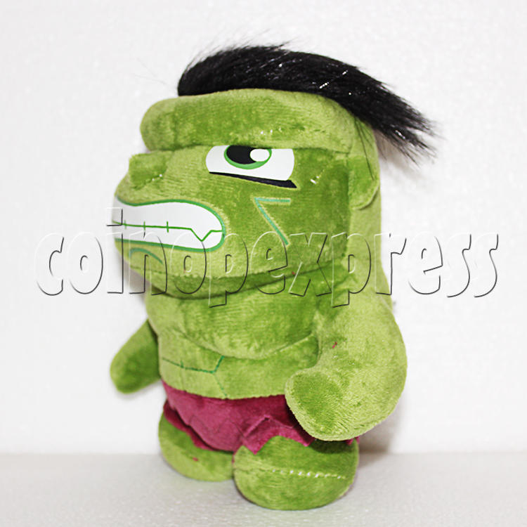 Green Giant Plush Toy 8 inch - angle view