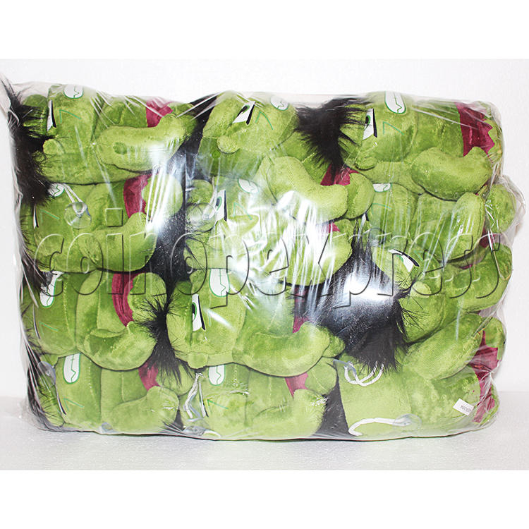 Green Giant Plush Toy 8 inch - package