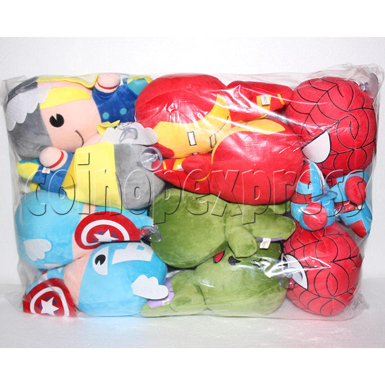 Avenger Series Plush Toy 8 inch - package