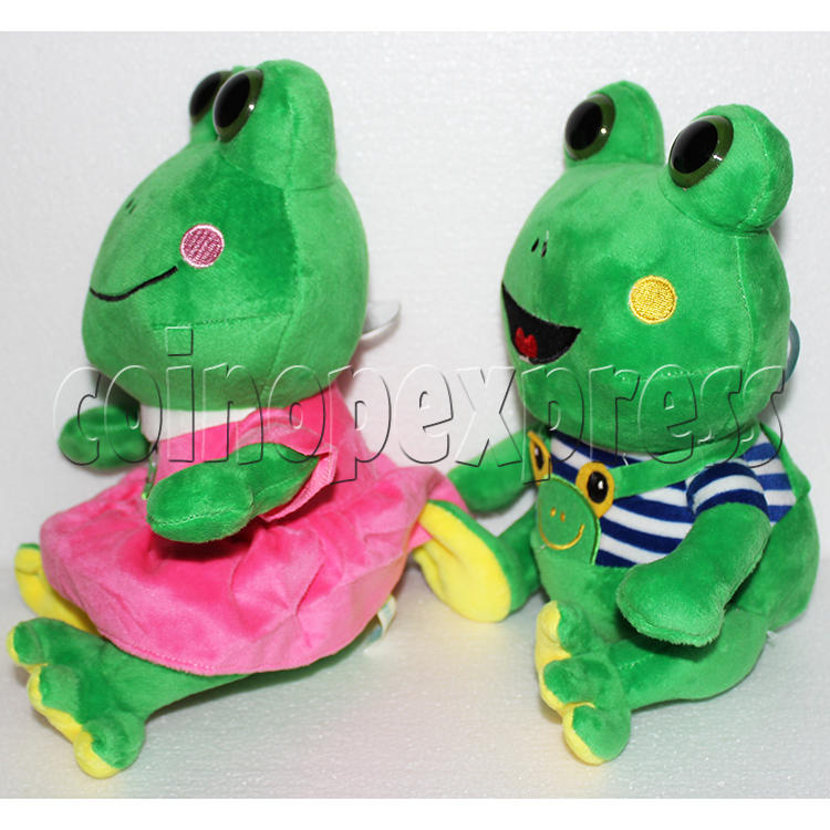 Lovers Frog Plush Toy 8 inch - angle view