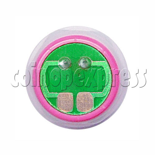 33mm Round Convex Push Button with PCB (welded) 4844
