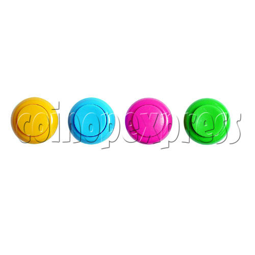 33mm Round Convex Push Button with PCB (welded) 8847
