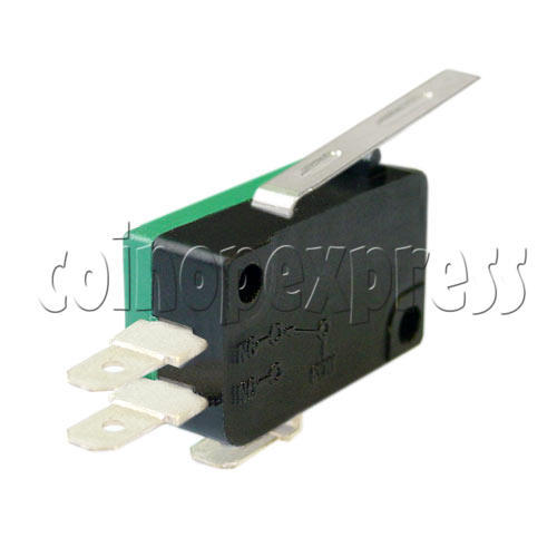 3 Terminals Microswitch with Auxiliary Actuator 4797