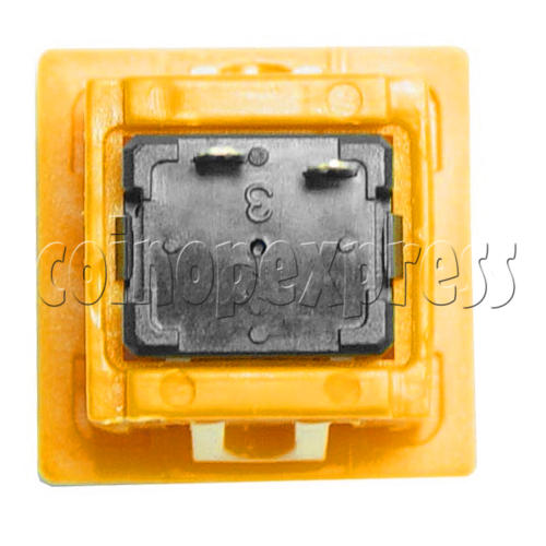 26mm Square Push Button with Clipper 8858