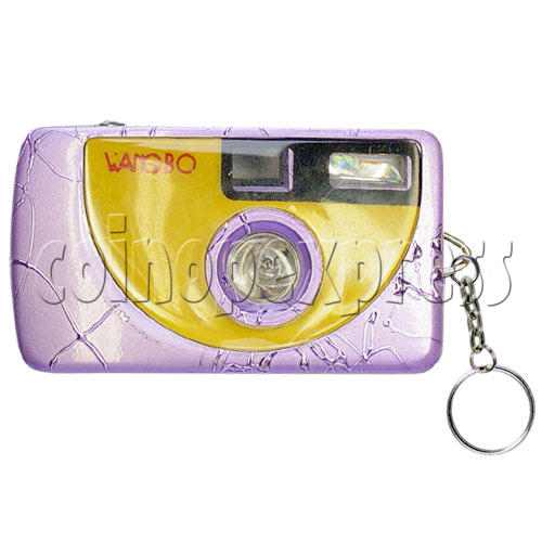Digital Camera Light-up Key Rings 9716