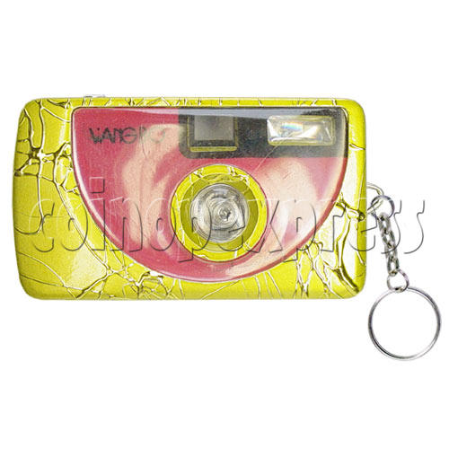 Digital Camera Light-up Key Rings 9718