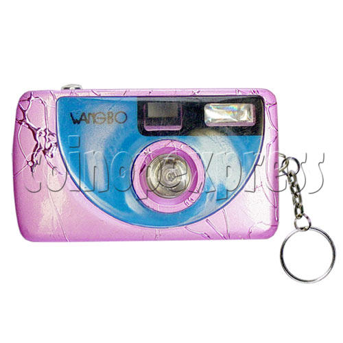 Digital Camera Light-up Key Rings 9719