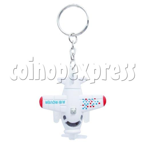 Mini Airplane Light-up Key Rings 10586