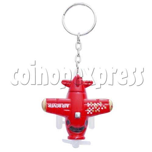 Mini Airplane Light-up Key Rings 10587