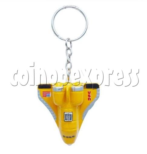 Mini Airplane Light-up Key Rings 12892