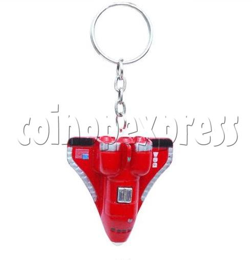 Mini Airplane Light-up Key Rings 12894