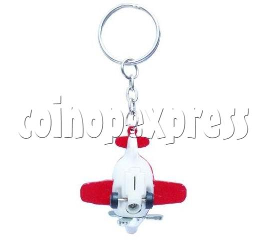 Mini Airplane Light-up Key Rings 12896