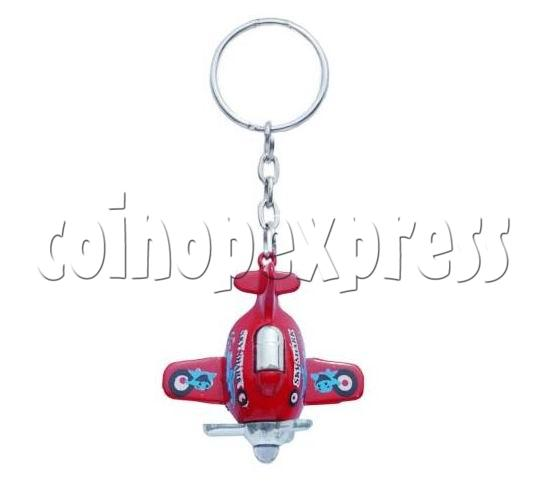 Mini Airplane Light-up Key Rings 12898