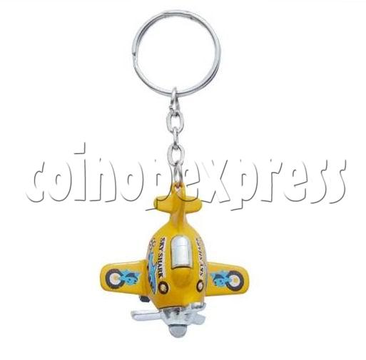 Mini Airplane Light-up Key Rings 12899