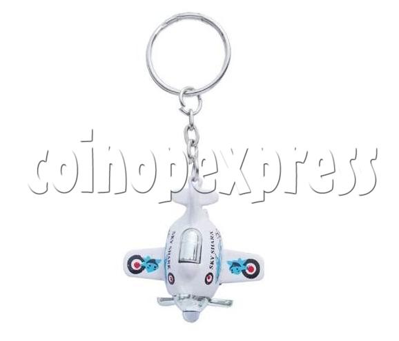 Mini Airplane Light-up Key Rings 12900