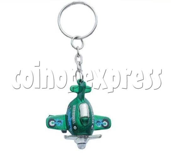 Mini Airplane Light-up Key Rings 12901