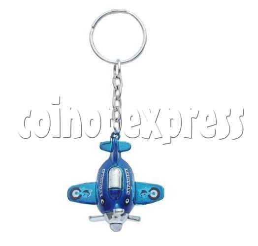 Mini Airplane Light-up Key Rings 12902