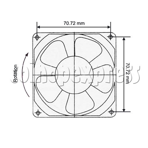 Cooling Fan Assembly 13070