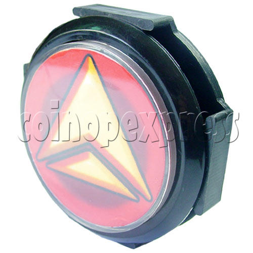 100mm DJ Push Button with LED Light 13660