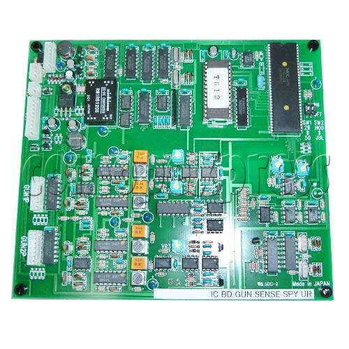 Gun Sensor board for House of Dead 3 machine 14255