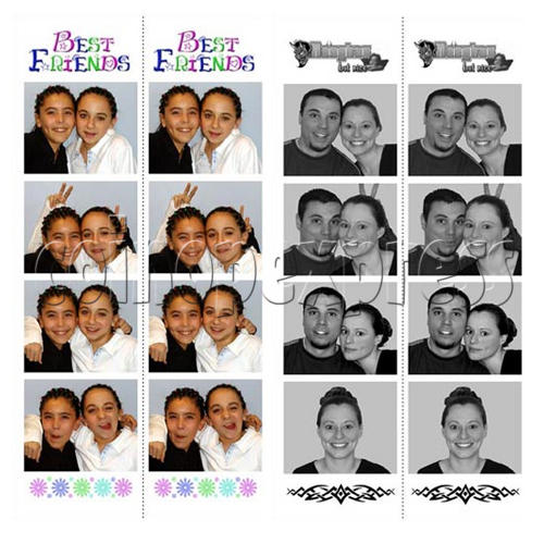 Foto Fun Strips (Sitdown Model - G2) 16610