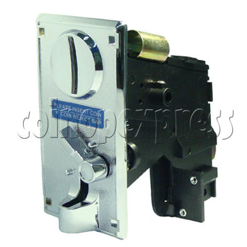Coin Acceptor - plastic mechanical front drop 20459