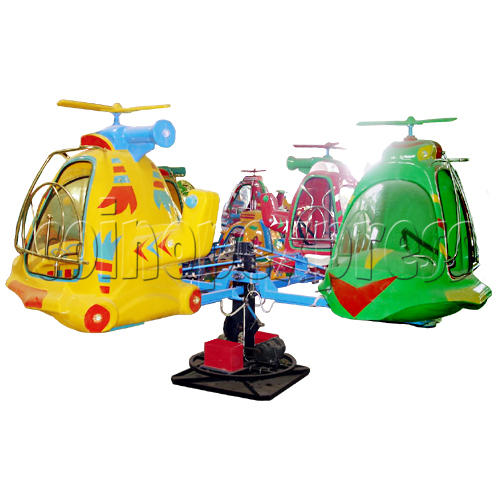 Helicopter and Planes Kiddie Rides 19817