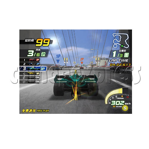 Ace Driver 3 Final Turn DX machine 21661