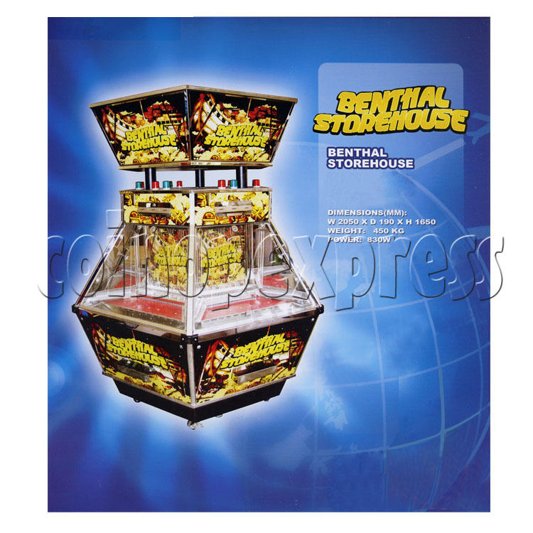 Benthal Storehouse Coin Pusher 24899