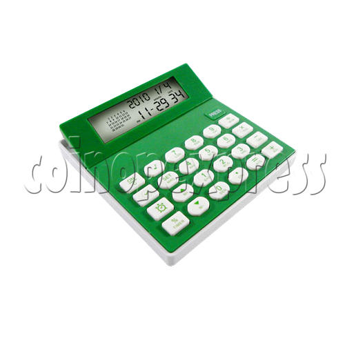 8 Digital Calculator With Calendar and Clock 23101