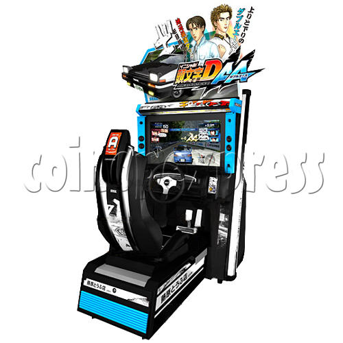 Initial D' Arcade Stage Version 6 AA single 23585