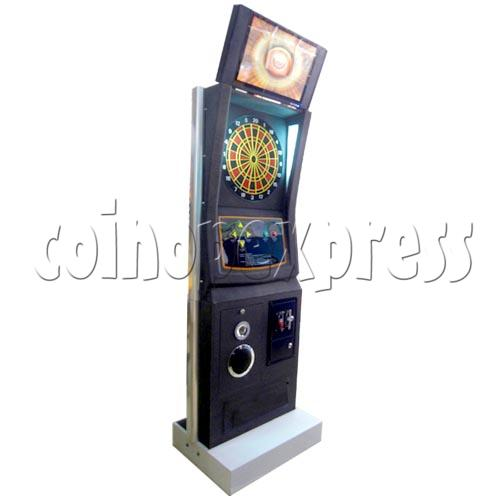 Electronic Dart Machine With Advertising Screen 25104