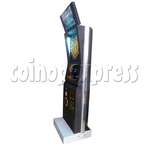 Electronic Dart Machine With Advertising Screen 25105