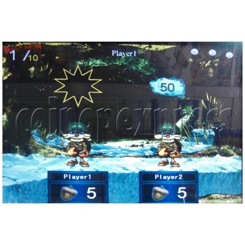Electronic Dart Machine With Advertising Screen 25107