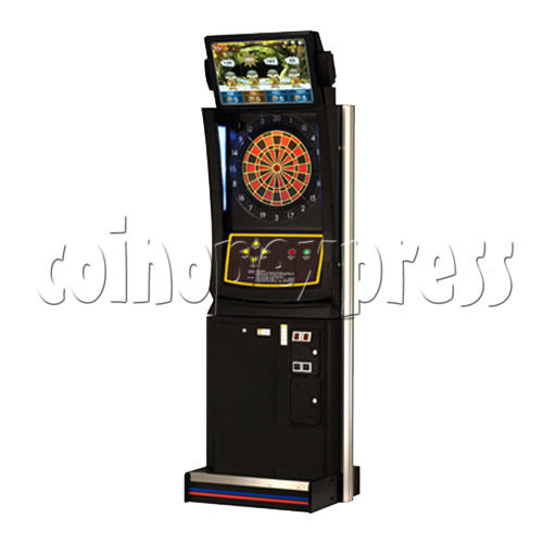 Electronic Dart Machine With Advertising Screen 25136
