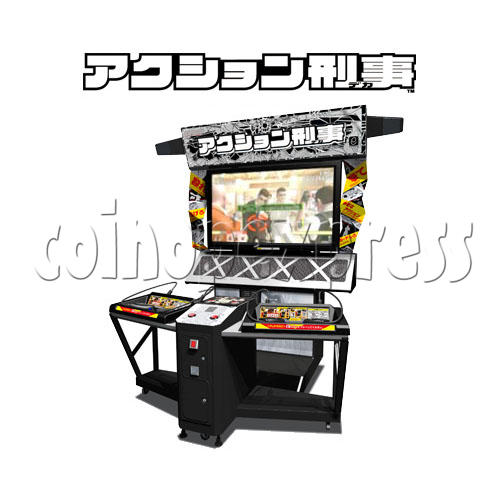 Action Deka Arcade Machine 25150