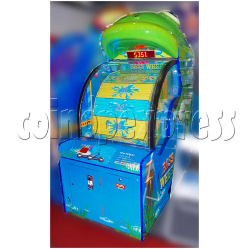 Bass Wheel ticket machine 25927